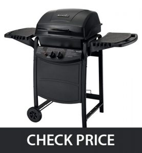 Char-Broil Classic 280 - Easy to Move (6-wheels)