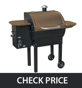 Camp Chef Bronze PG24B – SmokePro Wood Pellet Grill Smoker