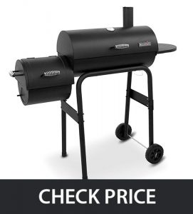 Char-Broil Gourmet – Best Offset Smoker with (built-in damper)