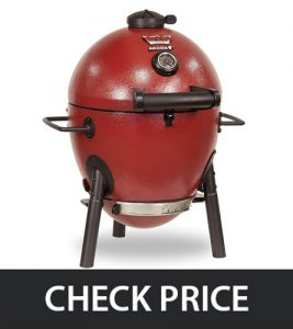 Char-Griller E06614 – Kamado Kooker Charcoal Grill (Fast Cleanup)