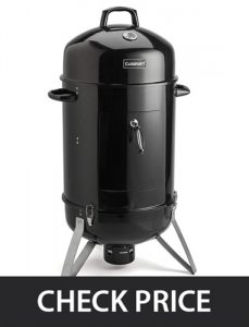 Cuisinart COS-116 - Vertical Charcoal Smoker Review (Indoor & Outdoor)