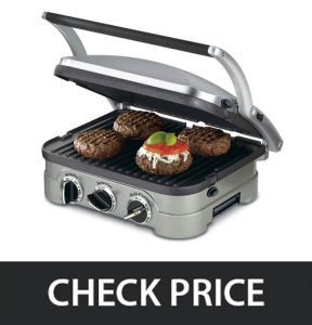 Cuisinart GR-4N – Suited for Every Budget (All Features)