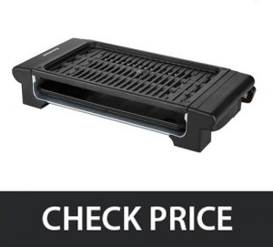 Excelvan Portable Grill – Ideal for Indoor and Outdoor (Easy to Clean)