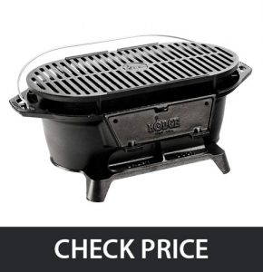 Lodge Sportsman's Grill – for Picnics, Tailgating, Camping or Patio