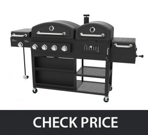 Smoke Hollow PS9900 LP Gas Charcoal Smoker