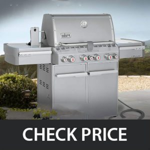 Weber Summit 7270001 – Natural Gas & Liquid Propane (Multi-Options)