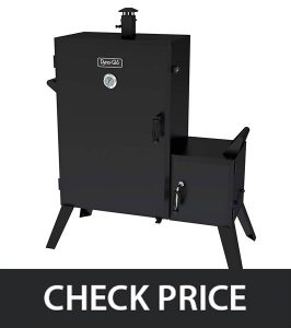 Dyna-Glo DGO1890BDC-D Vertical Wide Body Offset Charcoal Smoker