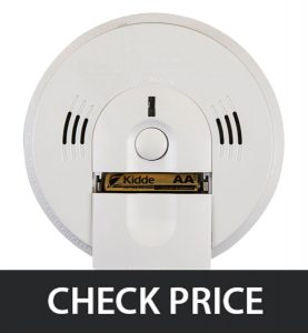 Kidde KN-COSM-IBA Hardwired Smoke and CO Detector Alarm