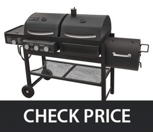 moke Hollow TC3718SB Combination Gas-Charcoal-Smoker Grill Review
