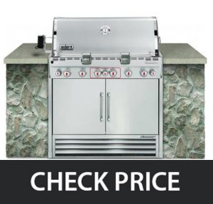 Weber Summit S-660 LP - Stainless Steel Grill